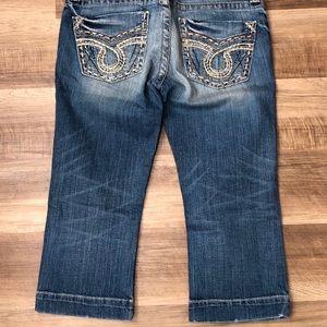 Big Star cropped jeans capris 29
